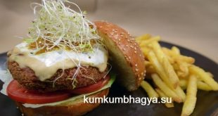 Artificial Intelligence beefs up vegetable burgers
