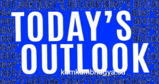 Today's outlook